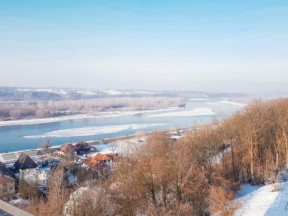 Kazimierz - zamkowe wzgórze