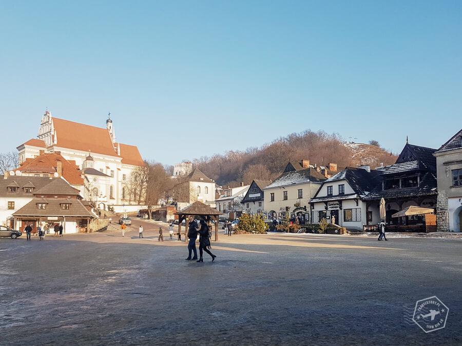 Kazimierz starówka i góra trzech krzyży