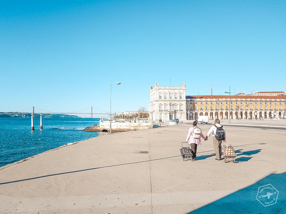 plac commercio Lizbona