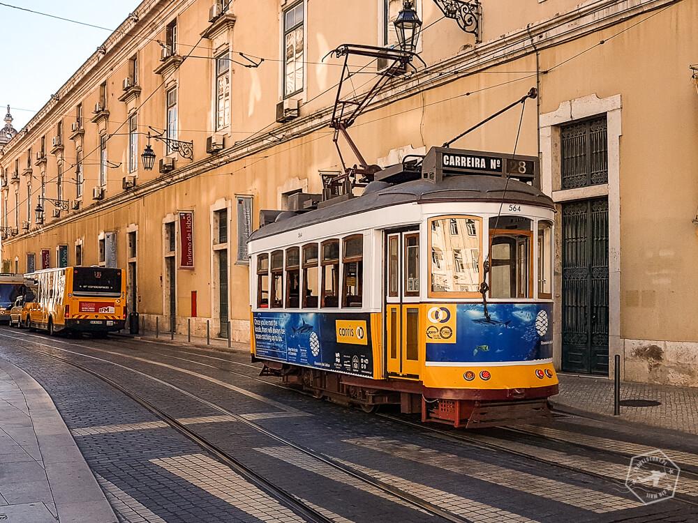 Lizbona tramwaj 28