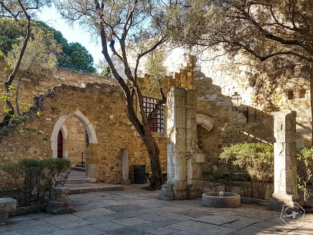 Zamek św. Jerzego Lizbona
