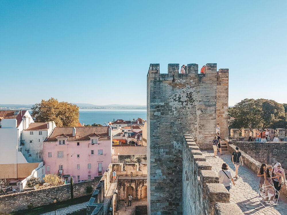 Lizbona zamek