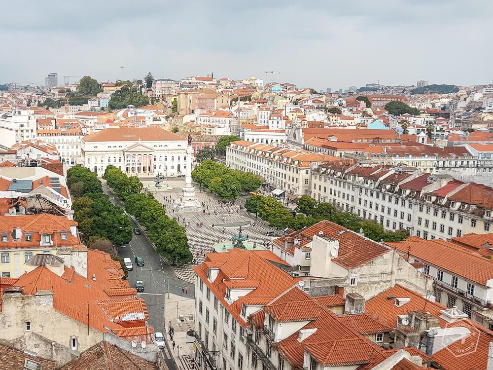 Lizbona - Plac Rossio