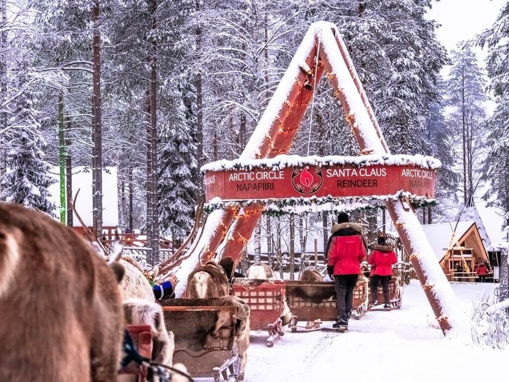 Laponia - wioska św. Mikołaja1