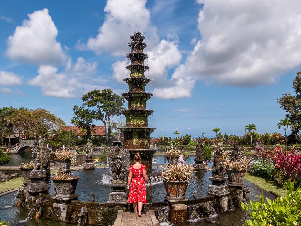 Taman Tirta Gangga - Bali - Travelstory.pl