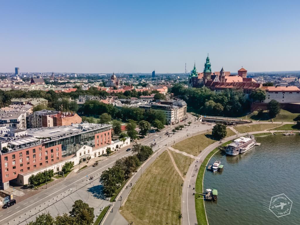 travelstory.pl Kraków bulwary wiślane