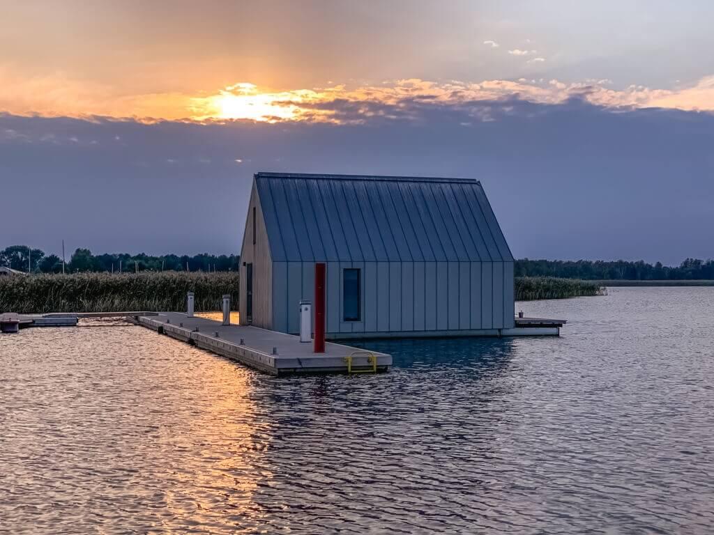Dom na wodzie Pisz Mazury